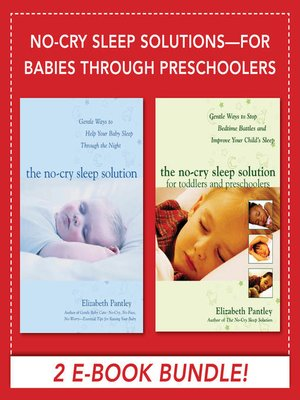 cover image of No-Cry Sleep Solutions for Babies through Preschoolers