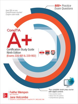 cover image of CompTIA A+ Certification Study Guide (Exams 220-901 & 220-902)