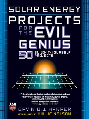 cover image of Solar Energy Projects for the Evil Genius