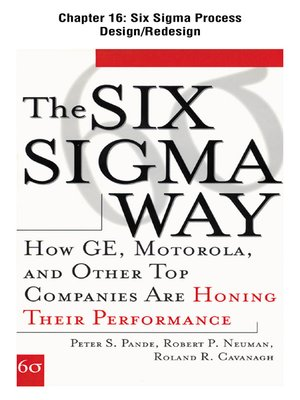 cover image of Six Sigma Process Design/Redesign