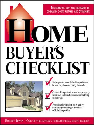 cover image of Home Buyer's Checklist