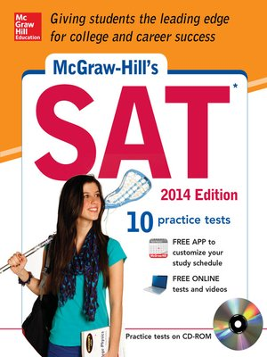 cover image of McGraw-Hill's SAT, 2014 Edition