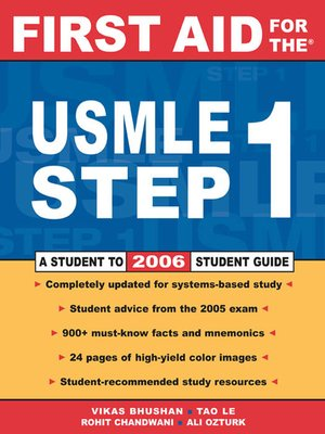 cover image of First Aid for the USMLE Step 1