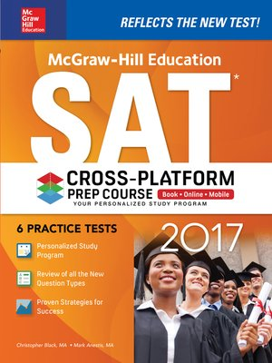cover image of McGraw-Hill Education SAT 2017 Cross-Platform Prep Course