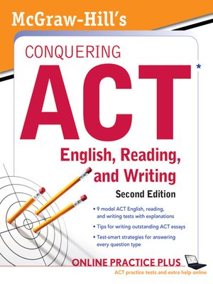 cover image of McGraw-Hill's Conquering ACT English Reading and Writing