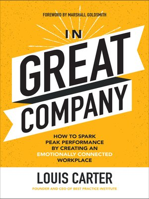 cover image of In Great Company