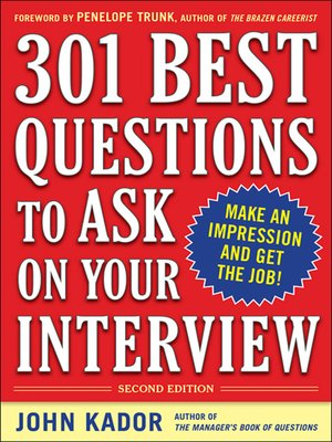 cover image of 301 Best Questions to Ask on Your Interview