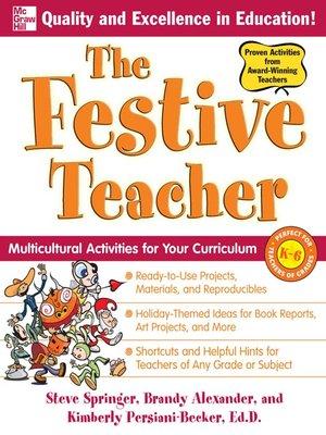 cover image of The Festive Teacher