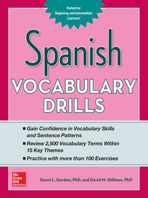 cover image of Spanish Vocabulary Drills