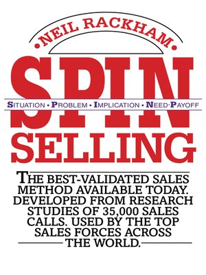 cover image of SPIN Selling