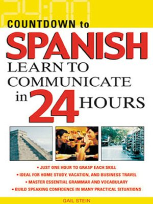 cover image of Countdown to Spanish