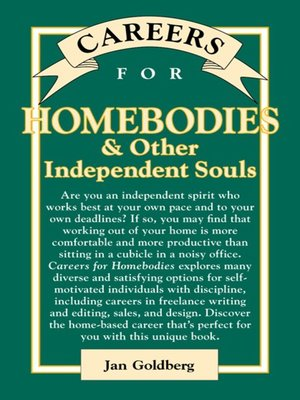 cover image of Careers for Homebodies & Other Independent Souls