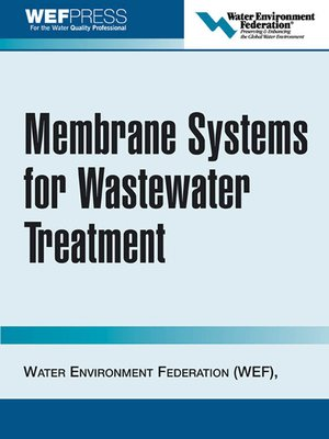 cover image of Membrane Systems for Wastewater Treatment