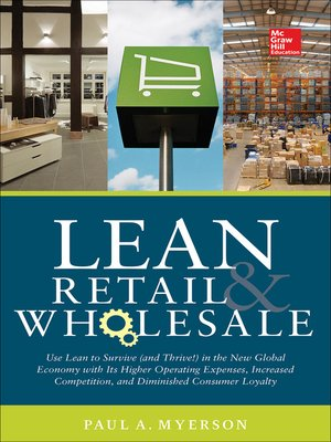 cover image of Lean Retail and Wholesale