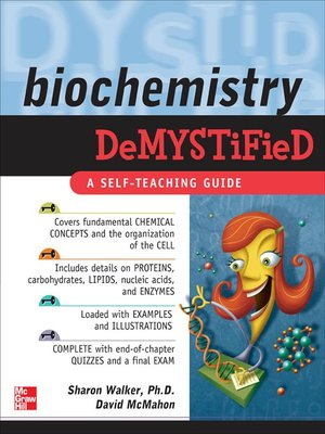 cover image of Biochemistry Demystified