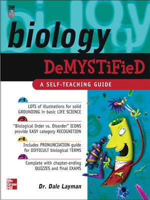 cover image of Biology Demystified