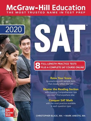 cover image of McGraw-Hill Education SAT 2020