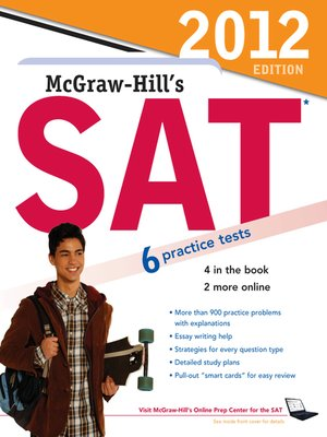 cover image of McGraw-Hill's SAT, 2012 Edition