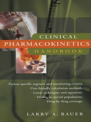 applied clinical pharmacokinetics larry bauer pdf