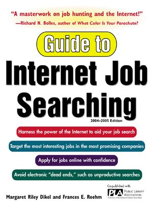 cover image of Guide to Internet Job Searching