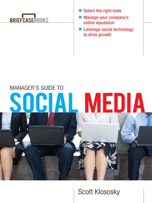 cover image of Manager's Guide to Social Media