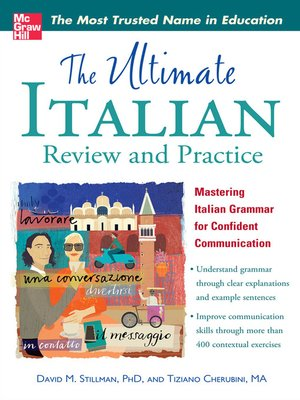 cover image of The Ultimate Italian Review and Practice
