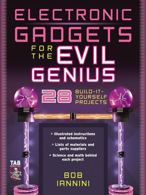 cover image of Electronic Gadgets for the Evil Genius