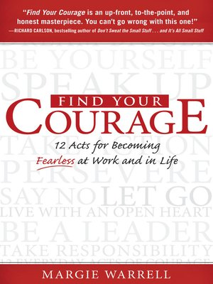 cover image of Find Your Courage
