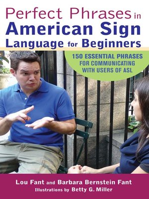 cover image of Perfect Phrases in American Sign Language for Beginners