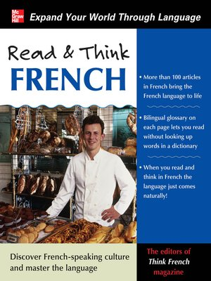 cover image of Read & Think French