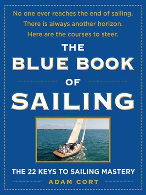 cover image of The Blue Book of Sailing