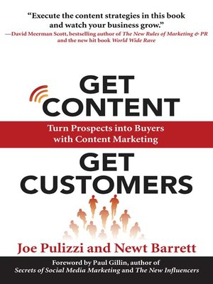 cover image of Get Content Get Customers