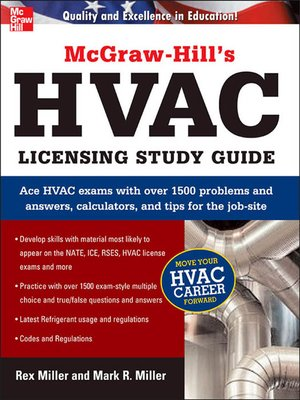 Mcgraw hills hvac licensing study guide by rex miller overdrive mcgraw hills hvac licensing study guide fandeluxe Images