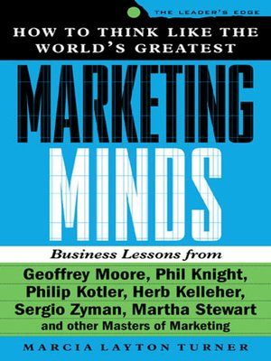 cover image of How to Think Like the World's Greatest Marketing Minds