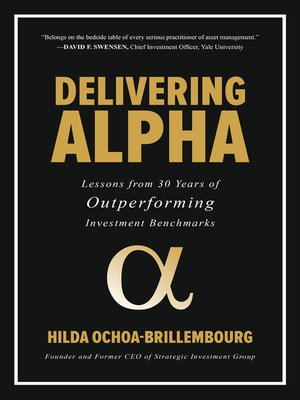 cover image of Delivering Alpha