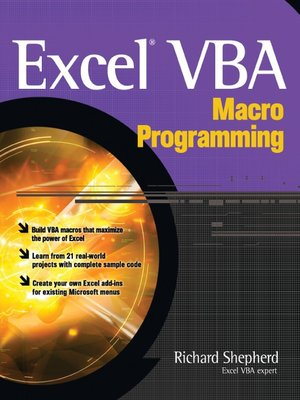 Excel Vba Macro Ebook