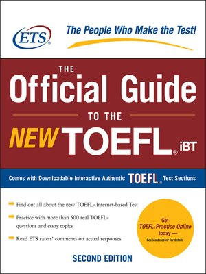 cover image of The Official Guide to the New TOEFL iBT