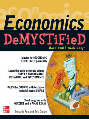 cover image of Economics DeMYSTiFieD