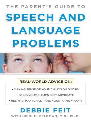 cover image of The Parent's Guide to Speech and Language Problems