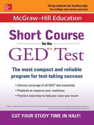 cover image of McGraw-Hill Education Short Course for the GED Test