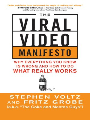 cover image of The Viral Video Manifesto