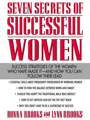 cover image of Seven Secrets of Successful Women