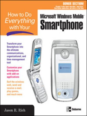 cover image of How to Do Everything with Your Microsoft&#174; Windows Mobile<sup>TM</sup> Smartphone