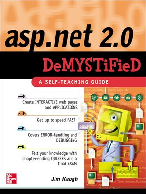 cover image of ASP.NET 2.0 Demystified