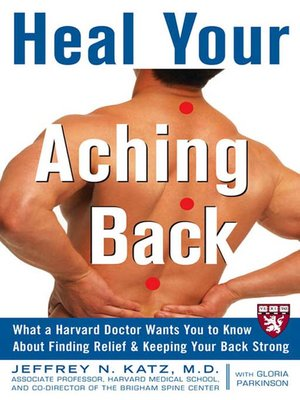 cover image of Heal Your Aching Back