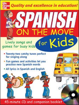 cover image of Spanish on the Move for Kids
