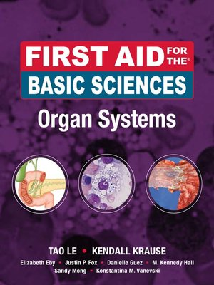 cover image of First Aid for the® Basic Sciences Organ Systems