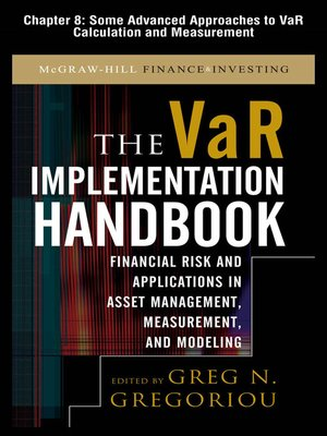 cover image of Some Advanced Approaches to VaR Calculation and Measurement