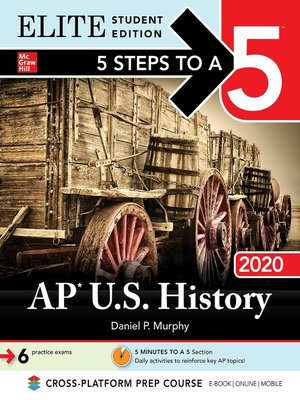 cover image of 5 Steps to a 5: AP U.S. History 2020