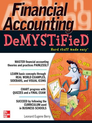 cover image of Financial Accounting DeMYSTiFieD